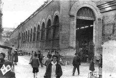 Mercado antiguo en La Corredera