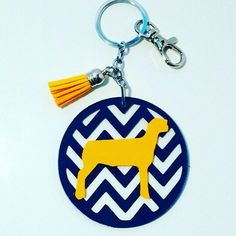 Great back to school backpack charm for the FFA kid.
