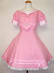 Angelic Pretty / One Piece / Anchor Embroidery Sailor OP
