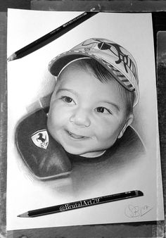 Drawing Pencil(Baby Portrait)..