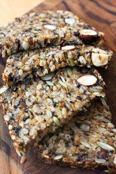 Seed + Salt's gluten free sprouted nut loaf via @HonestlyYUM