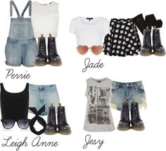"""""""Little Mix inspired outfits with doc martens"""" by littlemix-style ❤ liked on Polyvore"""