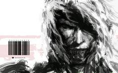 Samurai Spirit Sumi 3 by derylbraun on DeviantArt Metal Gear 3, Raiden Metal Gear, Metal Gear Rising, Metal Gear Solid, Digital Portrait, Digital Art, Corel Painter, Cg Artwork, Video Game Art