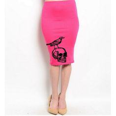 Hey, I found this really awesome Etsy listing at https://www.etsy.com/listing/224860875/skull-pencil-skirt-womens-retro-style