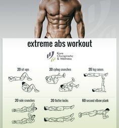 Extreme Abs #Workout ‍♂️20 sit-ups;20 cycle crunches;20 leg raises;20 side crunches;20 flutter kicks;60 second elbow plank.#exercise #fitness #core #rehabilitation #wellness