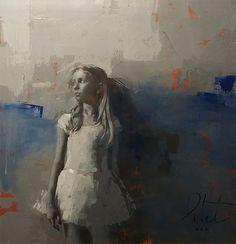"""I don't paint images. I paint time"" Agnieszka Pilat es una artista con un gran portafolio. Su estilo es duro y lleno de poderosas pinceladas."