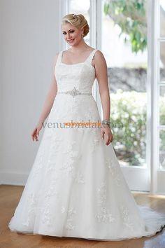 Délka dvorní Jiskra a záře Nášivky Svatební šaty 2015