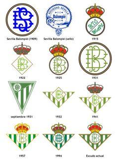 Historia del escudo del Betis. Historia de una pasión