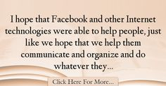 Mark Zuckerberg Quotes About Hope - 36332
