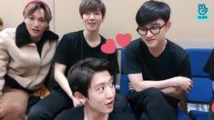 Exo, Park Chanyeol, Chansoo, Kyungsoo, Beautiful Men, Crushes, Korean, Ships, Stuff Stuff
