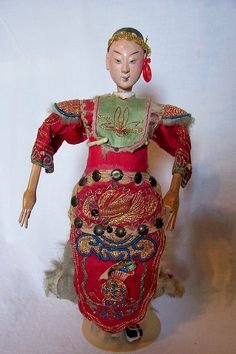 Chinese Opera Doll, via Flickr.