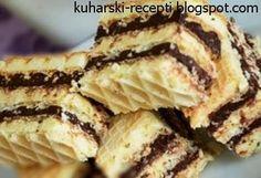 Kuharski recepti : Kinder oblatne