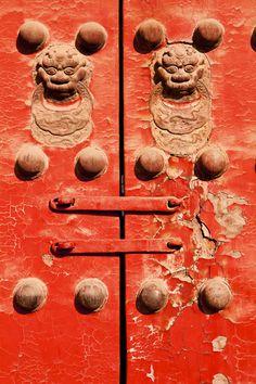 Door in the Forbidden City