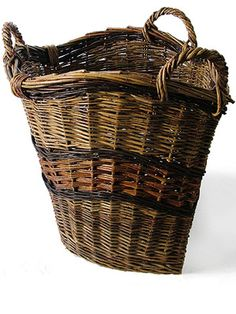 Willow Baskets by Trevor Leat. What a great rim to mimic in coils