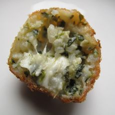 Pesto Arancini: from the South of Italy. Agricola Punica's Samas would complement this wonderfully with it's refreshing blend of vermentino and chardonnay from Sardinia.