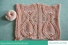 Pineapple Crochet Top Free Pattern | Beautiful Crochet Stuff