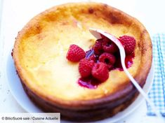 undefined White Cheese, Thermomix Desserts, Cottage Cheese, Churros, I Foods, Entrees, Raspberry, Deserts, Cooking Recipes