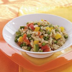 barley risotto primavera (carb lovers diet)