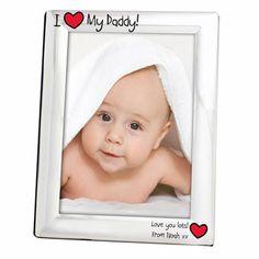 I Heart My.... Engraved Photo Frame