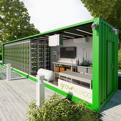 GrowBoxCo is a supplier of custom shipping container farms and grow rooms. We refurbish and shipping containers to our clients' specific needs. Indoor Farming, Hydroponic Farming, Aquaponics Greenhouse, Aquaponics Diy, Hydroponics System, Indoor Gardening, Hydroponic Grow Box, Plants Indoor, The Farm