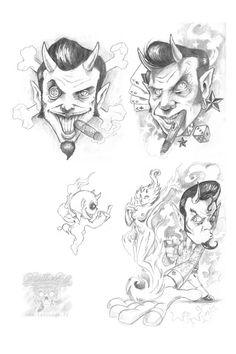 Tattoo sketch by Dimitri HK