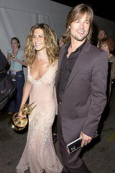 Jennifer Aniston Brad Pitt September 2002 Supported Jen After She Won An Emmy