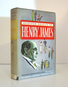 Henry James Selected Novels  The Americans by ProfessorBooknoodle, $9.99
