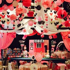 Birthday Party Themes, Birthday Cake, Minnie Mouse Theme Party, Desserts, Food, Tailgate Desserts, Deserts, Birthday Cakes, Essen