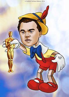 Leonardo DiCaprio as Pinocchio from Pinocchio