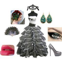 maskerad by huntjennab on Polyvore Masquerade Ball Costume 81ca828c29835