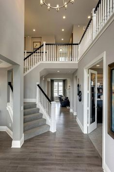 12 House Cleaning Tips That Will Save Both Your Time and Money - wohnen - Traumhaus Dream Home Design, My Dream Home, Home Interior Design, Dream House Interior, Beautiful Houses Interior, Interior Design Hallways, Design My House, Home Interior Colors, Exterior Design