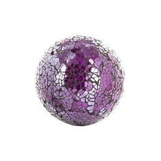 Purple Decorative Balls Shelter Your Favorite Scented Candle Or Use This Stunning Purple