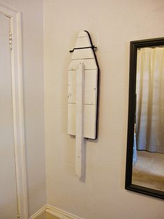 DIY Fold Away Ironing Board