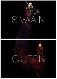 Once upon a time - Jennifer Morrison - Emma Swan - OUAT - Lana Parrilla - Regina Mills - Swan Queen - #SwanQueen