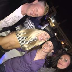 Singer Cam-Ranh Chandler and friends VIP after show Calvin Harris Epicenter Rooftop210 Charlotte NC