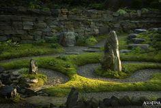Labyrinth, Moss & Spiritual Garden.