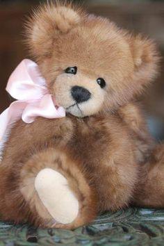 Mink Fur Teddy Bear By Kimbearlys - Bear Pile