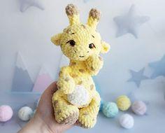 Crochet pattern Giraffe amigurumi PDF tutorial English. | Etsy