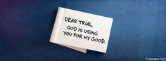 James 1:3 NKJV - Trials Produce Patience. - Facebook Cover Photo