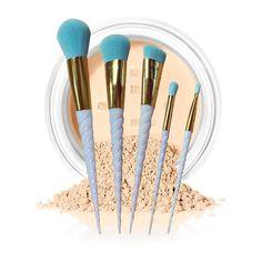 2017 Hot  5PCS  Makeup brushes Foundation Eyebrow Eyeliner Blush Cosmetic Concealer Brushes pincel maquiagem Mar28