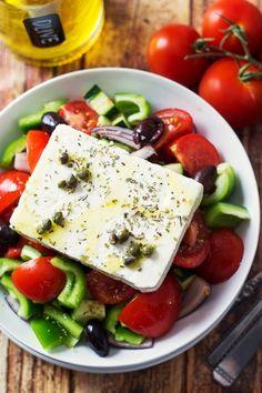 """Choriatiki"" Salade. #greek #food"