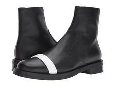 Neil Barrett Short Biker Boot Men's Boots Black/White