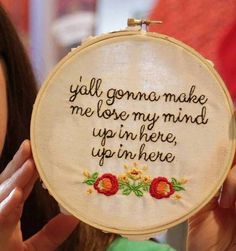 DMX- Y'all gonna make me lose my mind up in here, up in here - embroidery