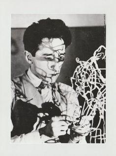 Jean Cocteau / Man Ray. 1926