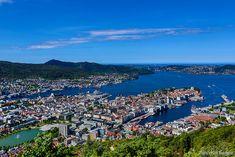 Fløibanen, el funicular de Bergen