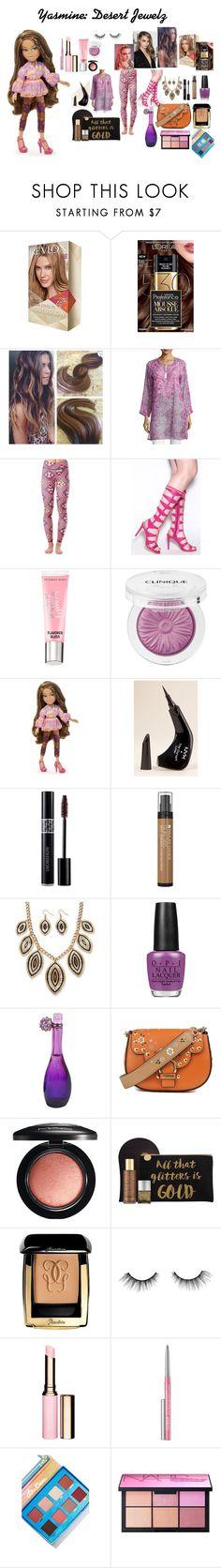 """Yasmin (Desert Jewelz)"" by mimi-world on Polyvore featuring L'Oréal Paris, RAJ, Beauty Rush, Clinique, NYX, Paula's Choice, OPI, Jennifer Lopez, Marc Jacobs and MAC Cosmetics"