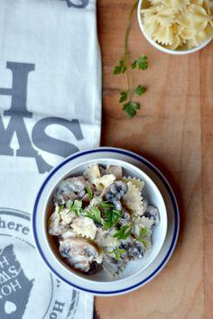 Z Chaty Na Końcu Wsi: SOS PIECZARKOWY / mushroom sauce