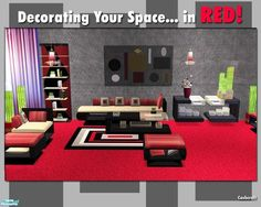 cashcraft's Decorating Your Space...in RED!