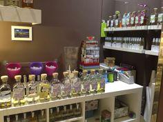 Parte de nuestras frascas de cristal