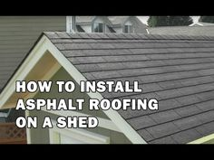 Trend How To Shingle A Shed Roof Video Ideas How To Shingle A Shed Roof Video - This Trend How To Shingle A Shed Roof Video Ideas images was upload on July, 28 2020 by Cleveland Koch. Here latest...